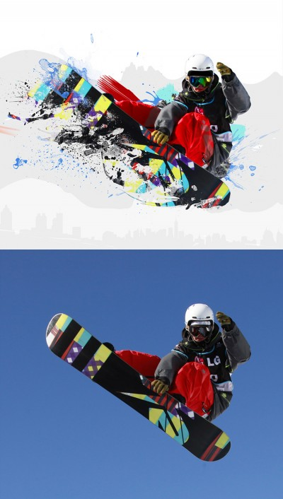 photoshop cs5 snowboard2